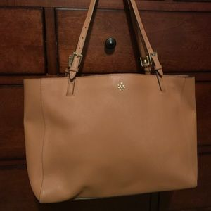 Leather Tory Burch Tote